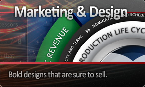 Graphics and Design - Bold designs that are sure to sell.