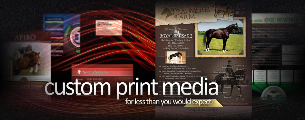 custom print media for less than you would expect