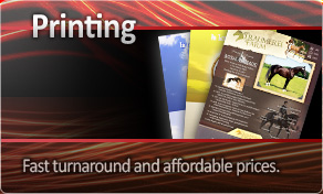 Printing and Distribution - Fast turnaround and affordable prices.